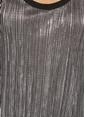 Beymen Club Pliseli Askılı Bluz Gümüş